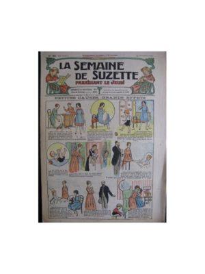 La semaine de Suzette 13e année n°36 (1917) Le courage de Greta
