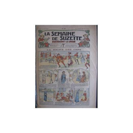 La semaine de Suzette 13e année n°37 (1917) La reine des ceps (Bleuette)