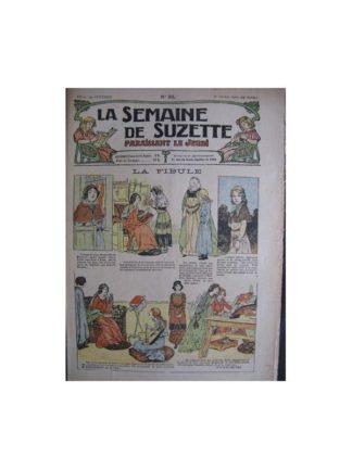 La semaine de Suzette 13e année n°38 (1917) La Fibule