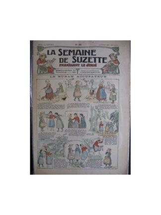 La semaine de Suzette 13e année n°39 (1917) Le ruban accusateur