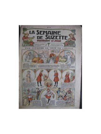 La semaine de Suzette 13e année n°41 (1917) Une journée de tête de linotte (Bleuette)
