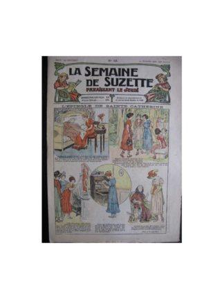 La semaine de Suzette 13e année n°43 (1917) L'épingle de Sainte Catherine (Bleuette)