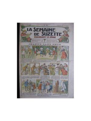 La semaine de Suzette 13e année n°45 (1917) Jeanne sans peur