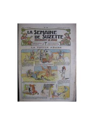 La semaine de Suzette 13e année n°46 (1917) La petite arabe
