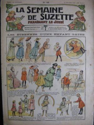 La semaine de Suzette 13e année n°48 (1917) Les étrennes d'une enfant gâtée