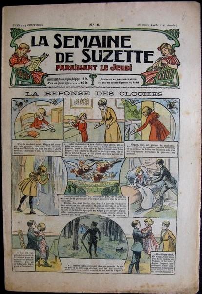 La semaine de Suzette 14e année n°8 (1918) La réponse des cloches