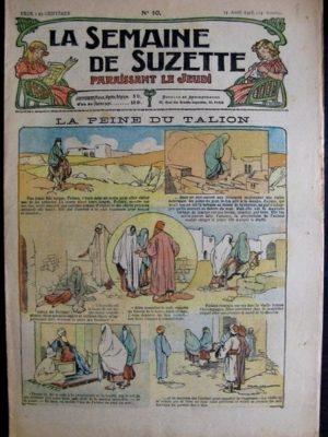 La semaine de Suzette 14e année n°10 (1918) La peine du Talion