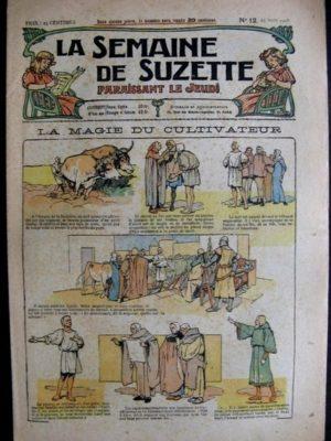 La semaine de Suzette 14e année n°12 (1918) La magie du cultivateur (Bleuette)