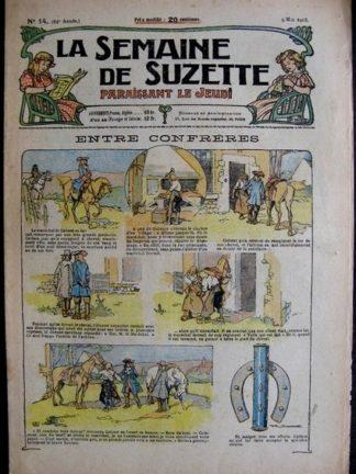 La semaine de Suzette 14e année n°14 (1918) Entre confrères (Bleuette)