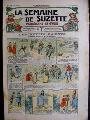La Semaine de Suzette 14e année n°19 (1918) – Les petits sabots