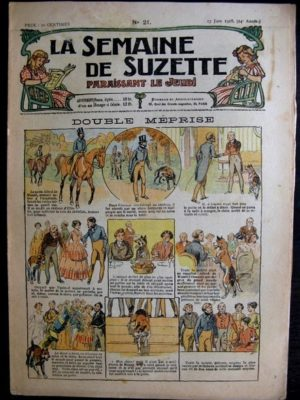 La Semaine de Suzette 14e année n°21 (1918) – Double méprise (Bleuette)