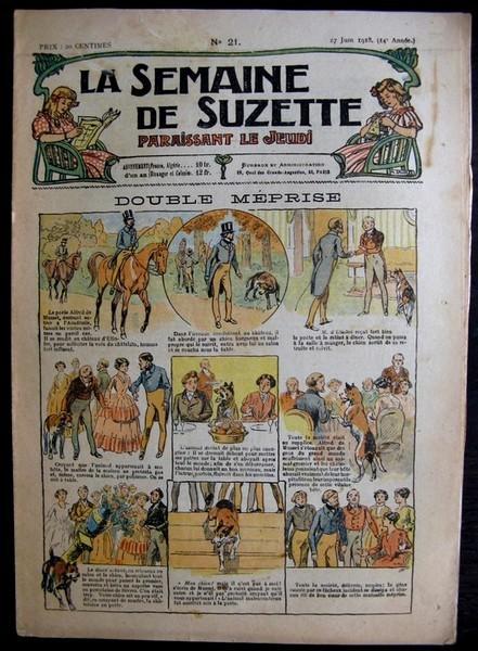 La Semaine de Suzette 14e année n°21 (1918) - Double méprise (Bleuette)