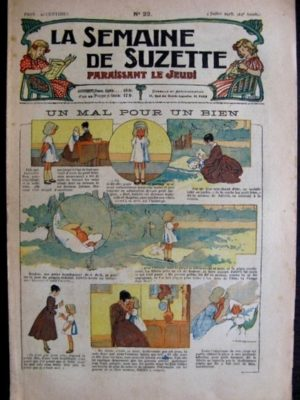 La Semaine de Suzette 14e année n°22 (1918) – Un mal pour un bien