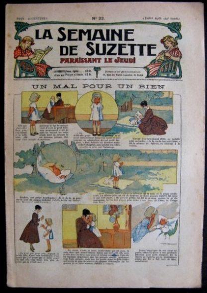 La Semaine de Suzette 14e année n°22 (1918) - Un mal pour un bien