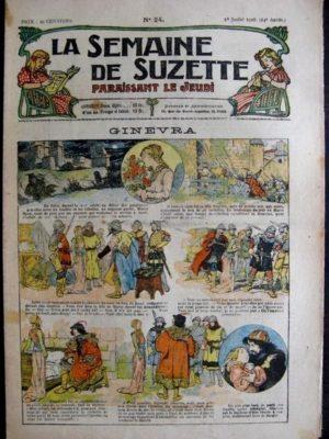 La Semaine de Suzette 14e année n°24 (1918) – Ginevra