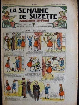 La Semaine de Suzette 14e année n°28 (1918) – Les mites