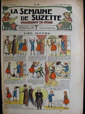 La Semaine de Suzette 14e année n°28 (1918) - Les mites