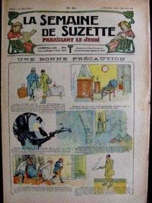 La Semaine de Suzette 14e année n°44 (1918) – Une bonne précaution (Bleuette)
