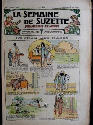 La Semaine de Suzette 14e année n°45 (1918) – Le jour des mères