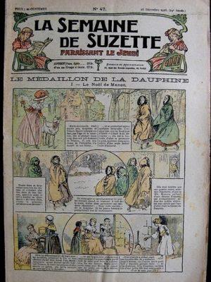 La Semaine de Suzette 14e année n°47 (1918) – Le médaillon de la Dauphine (Bleuette)