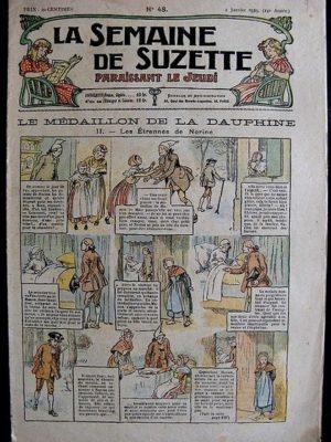 La Semaine de Suzette 14e année n°48 (1919) – Le médaillon de la Dauphine