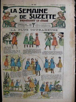 La Semaine de Suzette 14e année n°50 (1919) – La plus courageuse