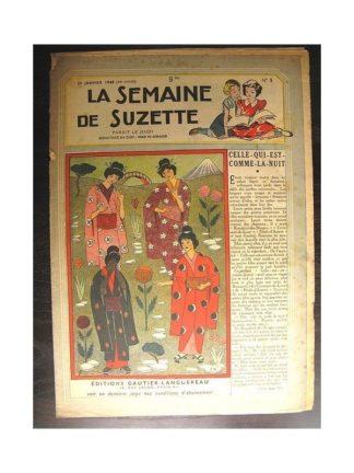 La semaine de Suzette 39e année n°5 (1948) celle qui est comme la nuit