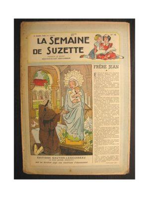La semaine de Suzette 39e année n°12 (1948) Frère Jean