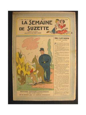 La semaine de Suzette 39e année n°20 (1948) Jimmy le petit kangourou