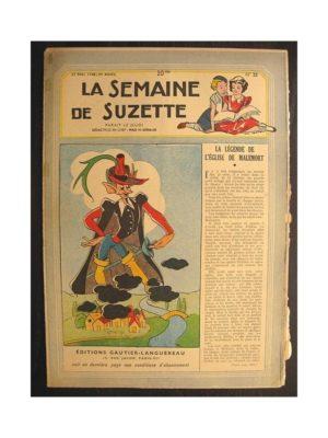La semaine de Suzette 39e année n°22 (1948) La légende de l'église de Malemort