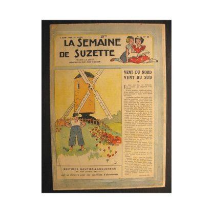 La semaine de Suzette 39e année n°23 (1948) Vent du nord vent du sud