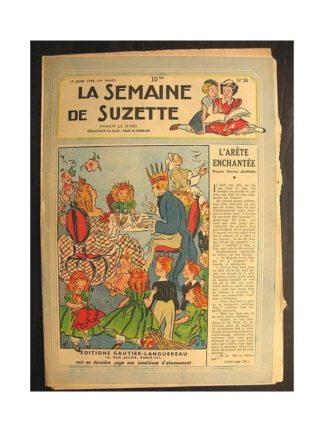 La semaine de Suzette 39e année n°25 (1948) L'arête enchantée
