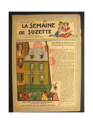 La semaine de Suzette 39e année n°27 (1948) Quincampoix, marchand de perles