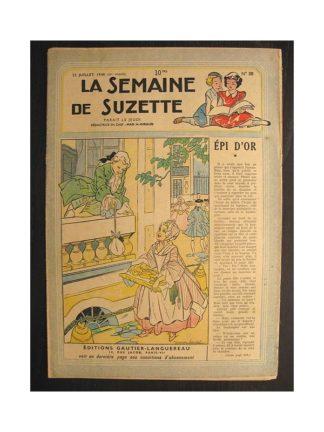 La semaine de Suzette 39e année n°30 (1948) Epi d'or (Bleuette)