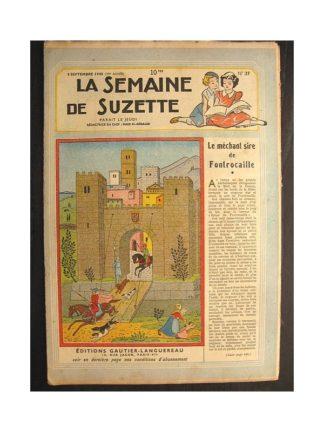La semaine de Suzette 39e année n°37 (1948) Le méchant Sire de Fontrocaille