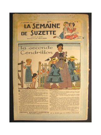 La semaine de Suzette 39e année n°43 (1948) La seconde Cendrillon