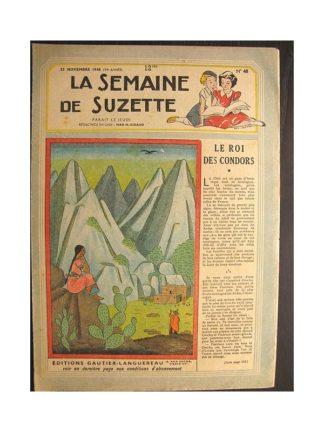 La semaine de Suzette 39e année n°48 (1948) Le roi des condors