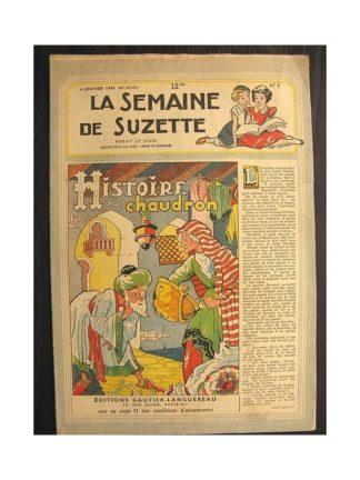 La semaine de Suzette 40e année n°1 (1949) Histoire d'un chaudron