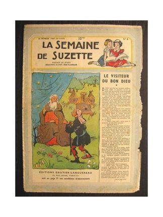 La semaine de Suzette 40e année n°6 (1949) Le visiteur du Bon Dieu