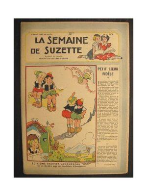 La semaine de Suzette 40e année n°9 (1949) Petit cœur fidèle