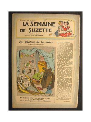 La semaine de Suzette 40e année n°12 (1949) Les chatons de la reine