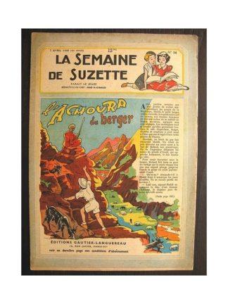 La semaine de Suzette 40e année n°14 (1949) L'Achoura du berger
