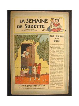 La semaine de Suzette 40e année n°21 (1949) Trois petites filles et un revenant