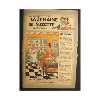 La semaine de Suzette 40e année n°22 (1949) L'art d'assaisonner