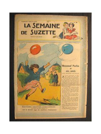 La semaine de Suzette 40e année n°28 (1949) Nounouf Pacha et ses amis