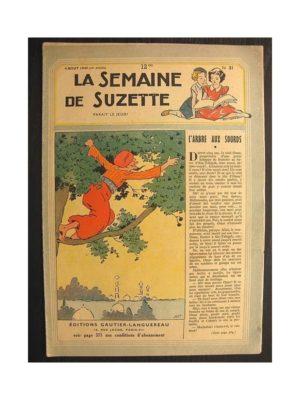La semaine de Suzette 40e année n°31 (1949) L'arbre aux sourds