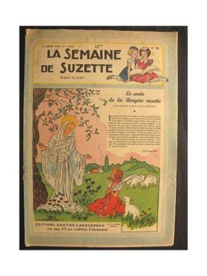 La semaine de Suzette 40e année n°32 (1949) Le conte de la bergère muette