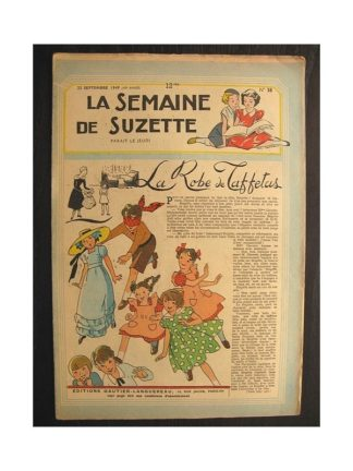 La semaine de Suzette 40e année n°38 (1949) La robe de taffetas