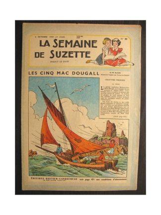 La semaine de Suzette 40e année n°40 (1949) Les cinq Mac Dougall