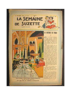 La semaine de Suzette 40e année n°41 (1949) La guitare de Pablo
